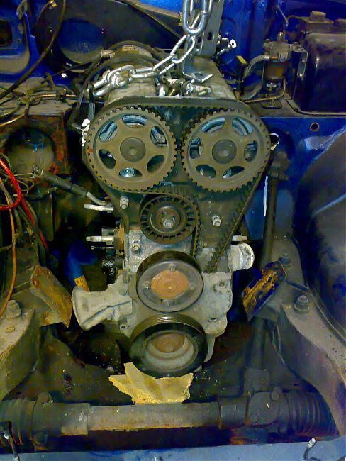 My Ford Zetec conversion - the whole story : MG Engine Swaps